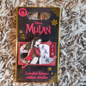 Disney Mulan Live Movie Limited Release Pin